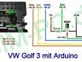 Golf3 Tacho Arduino Wiring Verkabelung
