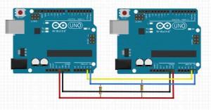 Arduino i2c Master Slave